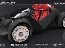 世界首台3D打印电动车诞生