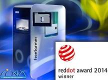 阿博格3D打印机获得红点设计大奖